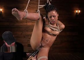 black romped rigid by his superior
