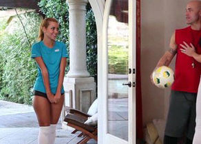 Jessie Rogers Nailed by Duo After Soccer