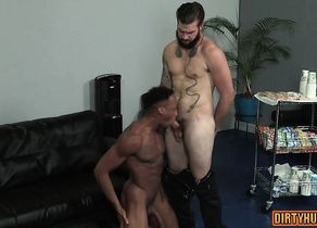 Muscle wolf spin flop with anal..