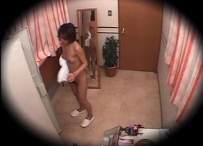 Chinese Girls Rubdown Hidden camera 3..