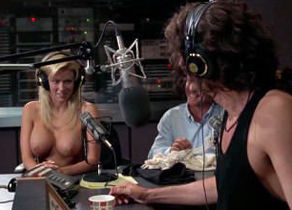 Jenna Jameson - Bare in a Radio studio..