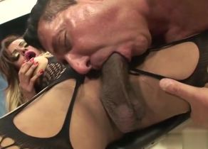 mouth-watering tranny badly With..