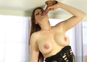 Blinding huge-titted Allison Moore is..