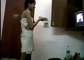 Honeymoon indian duo romance in motel