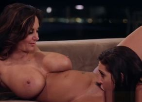 Huge-titted Stepmom Reaches..
