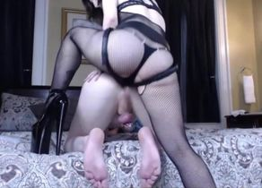 Mistress pegging  in virginity