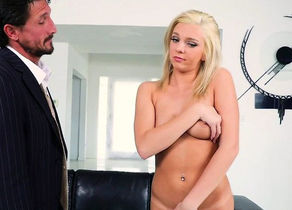 Glam stepdaughter pummeled while..