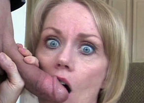 Mature blond cockslut is prepared to..