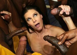India Summer  - InterracialBlowbang