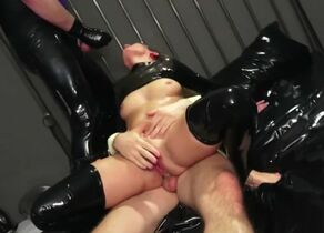 GERMAN Spandex FETISH Fuckslut IN..