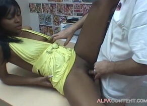 Steamy Black Hoe Gargle And Nail