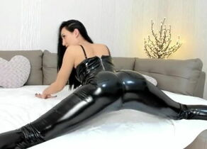 Web cam Female Jerking In Spandex..
