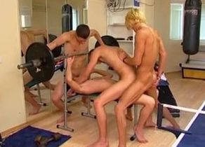 Gym Mates have Fuck-fest Joy